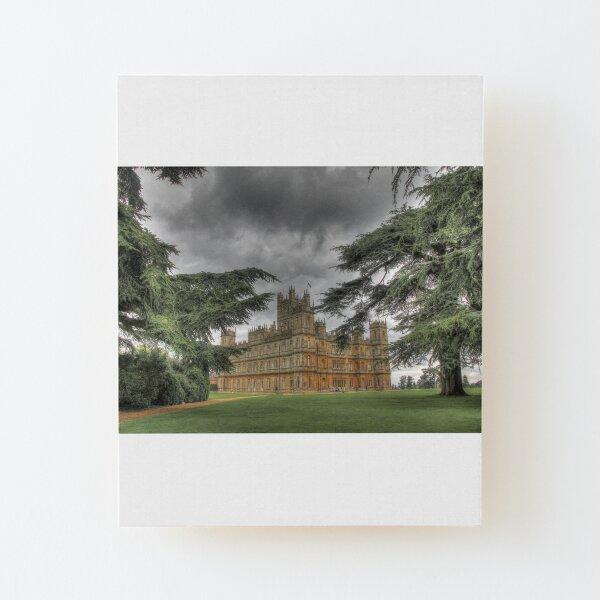 Downton Abbey Wood Mounted Print
