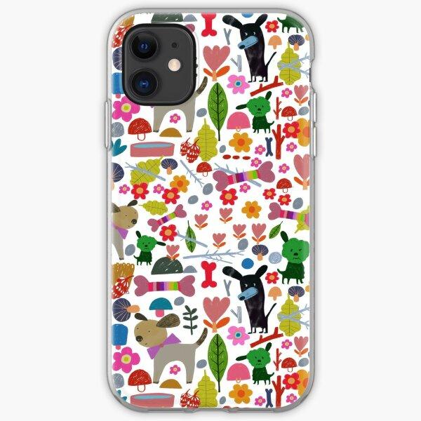 DOGGY PARK iPhone Soft Case