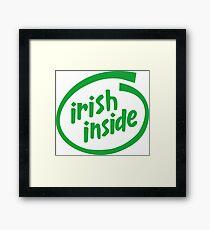 Irish Inside Framed Print
