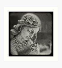 Angel Rose Art Print