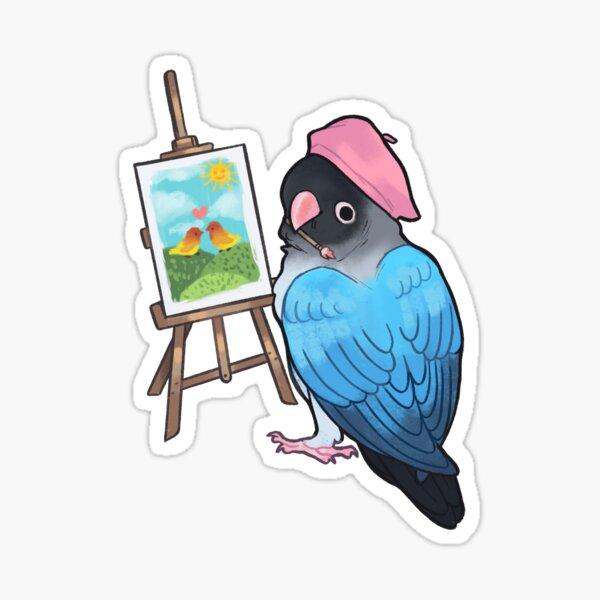 Artist Lovebird  Sticker