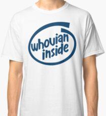 Whovian Inside Classic T-Shirt