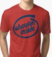 Whovian Inside Tri-blend T-Shirt