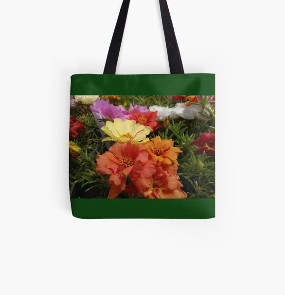 Rose moss All Over Print Tote Bag