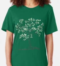 Leafy jewels clothing option 2 with color Slim Fit T-Shirt
