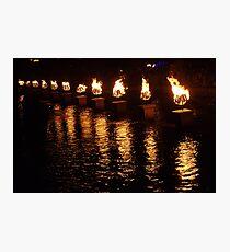 Waterfire Photographic Print