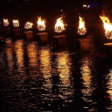 Waterfire by bcdoherty