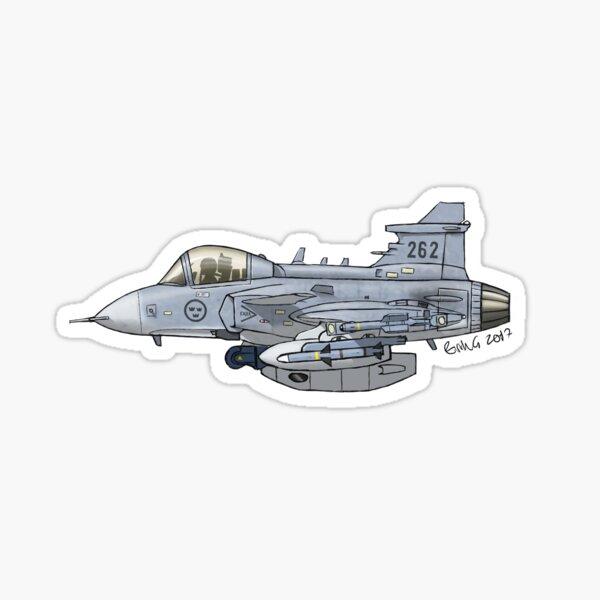 SAAB JAS 39C Gripen Sticker