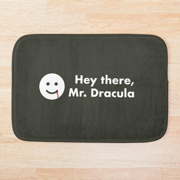 LBFB - Mr Dracula Bath Mat