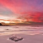 Magenta Sunset II by Jonathan Stacey