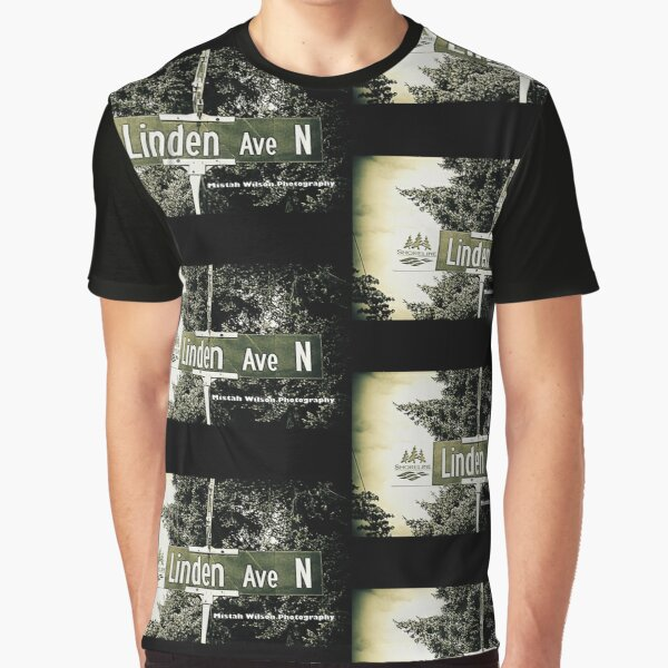 Linden Avenue North, Shoreline, WA by MWP Graphic T-Shirt