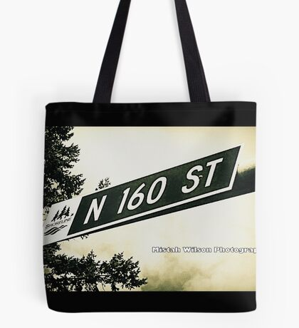 North 160th Street, Shoreline, WA by MWP Tote Bag