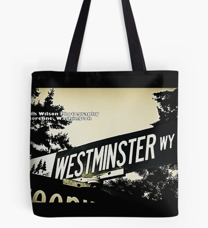 Westminster Way North, Shoreline, WA by MWP Tote Bag