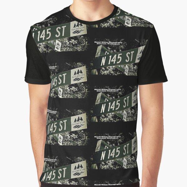 North 145th Street, Shoreline, WA by MWP Graphic T-Shirt