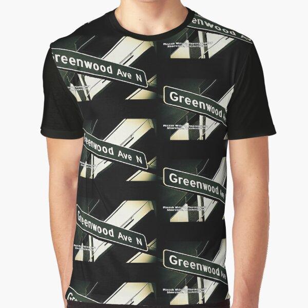 Greenwood Avenue, Shoreline, WA by MWP Graphic T-Shirt