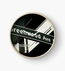 Greenwood Avenue, Shoreline, WA by MWP Clock