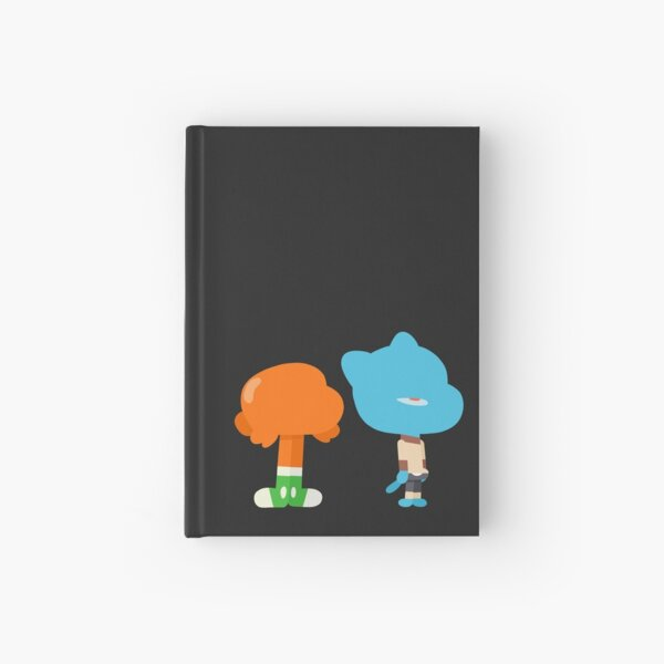 Minimal Gumball and Darwin Hardcover Journal
