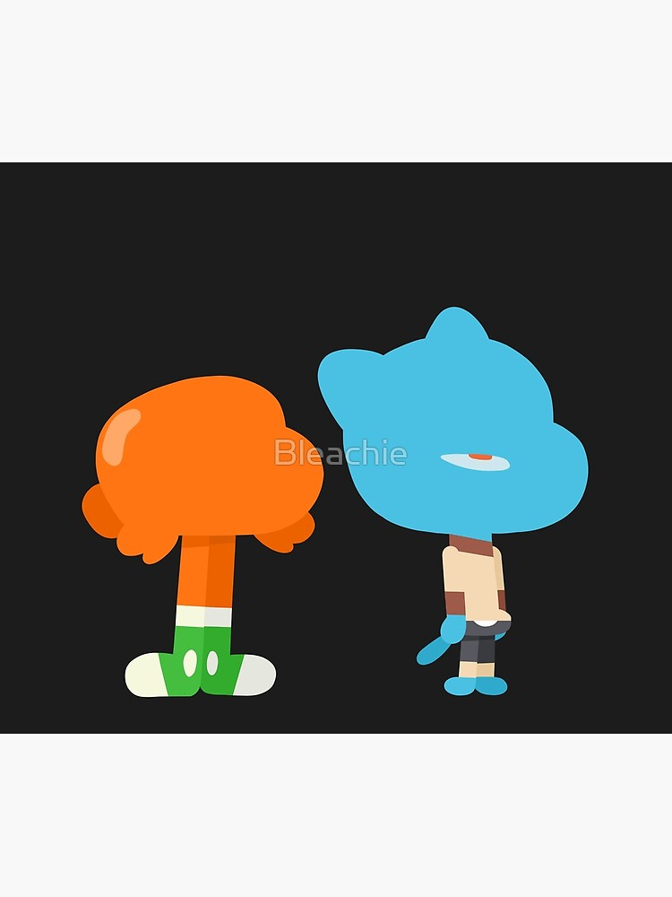 Minimal Gumball and Darwin by Bleachie