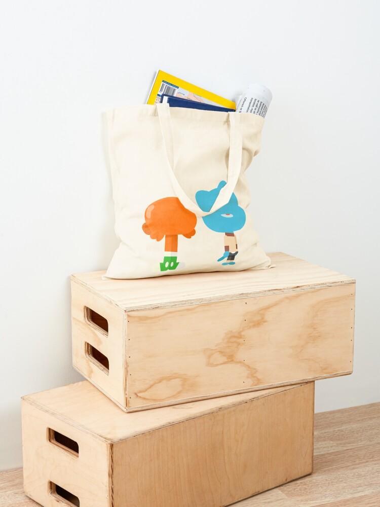 Alternate view of Minimal Gumball and Darwin Tote Bag