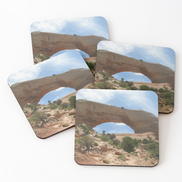 Wilson Arch, Utah Coasters (Set of 4)