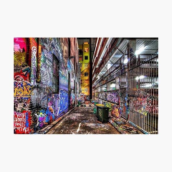 Hosier Lane Photographic Print