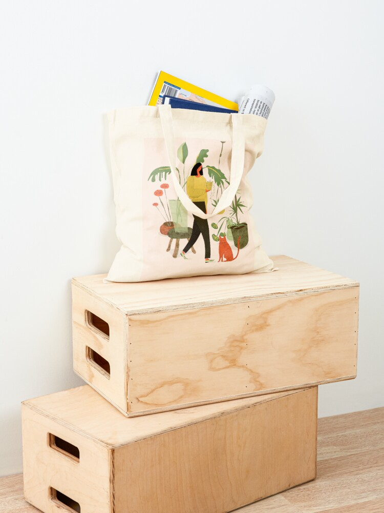 Alternate view of Migrating a Plant Tote Bag
