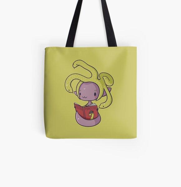 Little Gorgon All Over Print Tote Bag