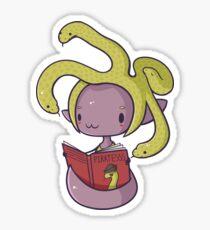 Little Gorgon Glossy Sticker