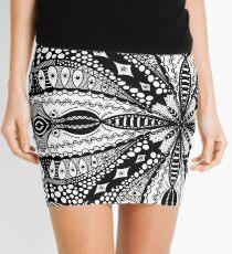 Chaotic Daydream  Mini Skirt