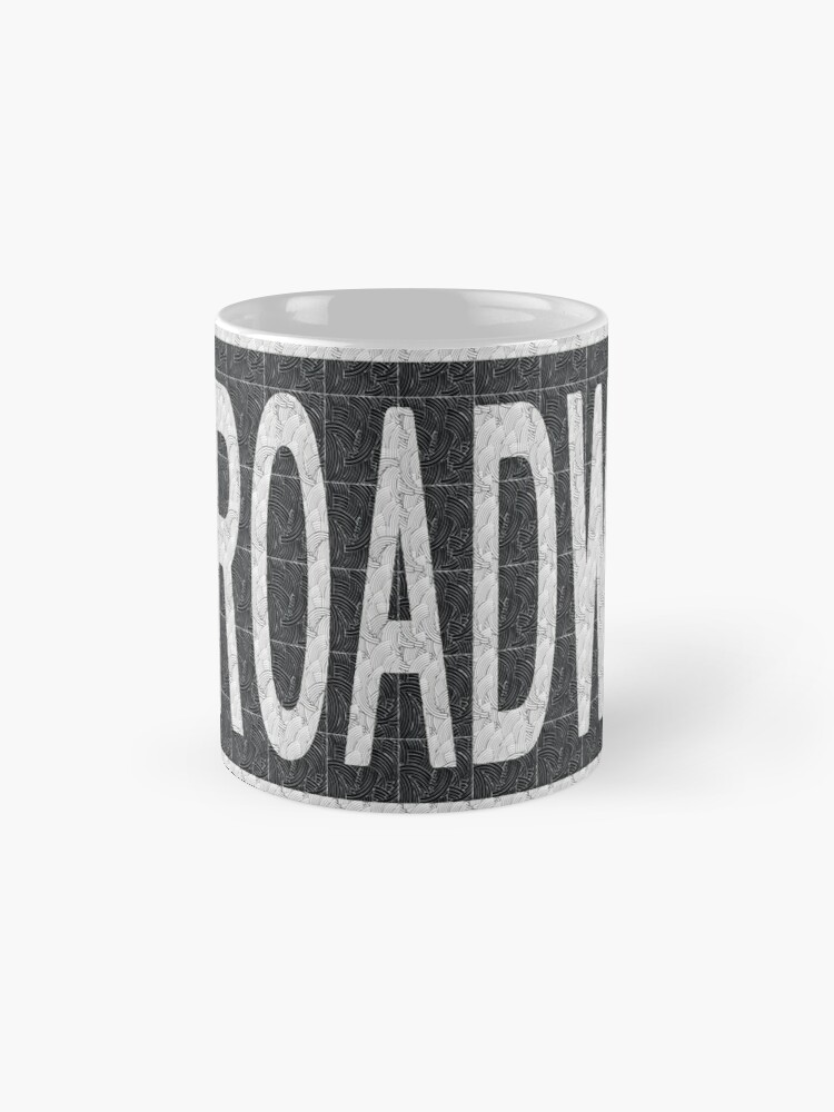 Alternate view of BROADWAY DECO SWING NYC Street Sign  Mug