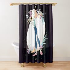 New Peace New Pearl Shower Curtain