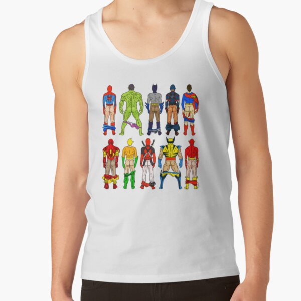 Superhero Butts Tank Top