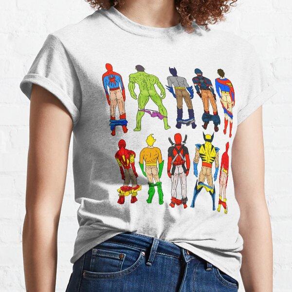 Superhero Butts Classic T-Shirt