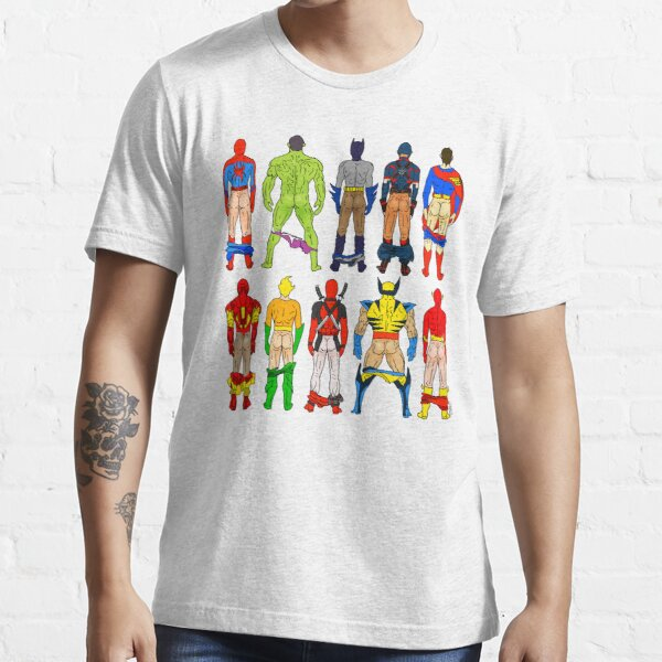 Mégots de super-héros T-shirt essentiel