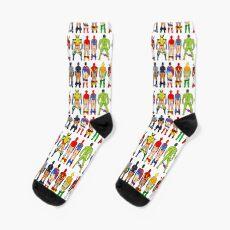 Superhero Butts Socks