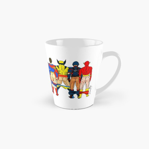 Superhero Butts Tall Mug