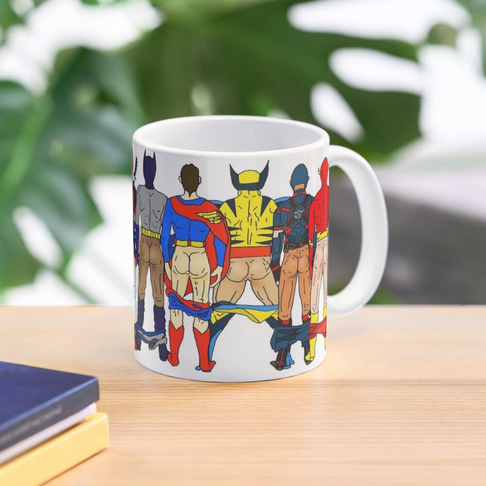 Superhero Butts Mug