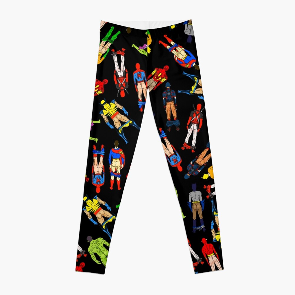 Superhero Butts Leggings