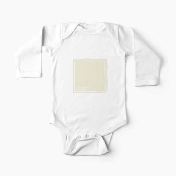 Sweet Corn 11-0106 TCX | Pantone | Color Trends | New York and London | Spring Summer 2019 | Solid Color | Fashion Colors | Long Sleeve Baby One-Piece