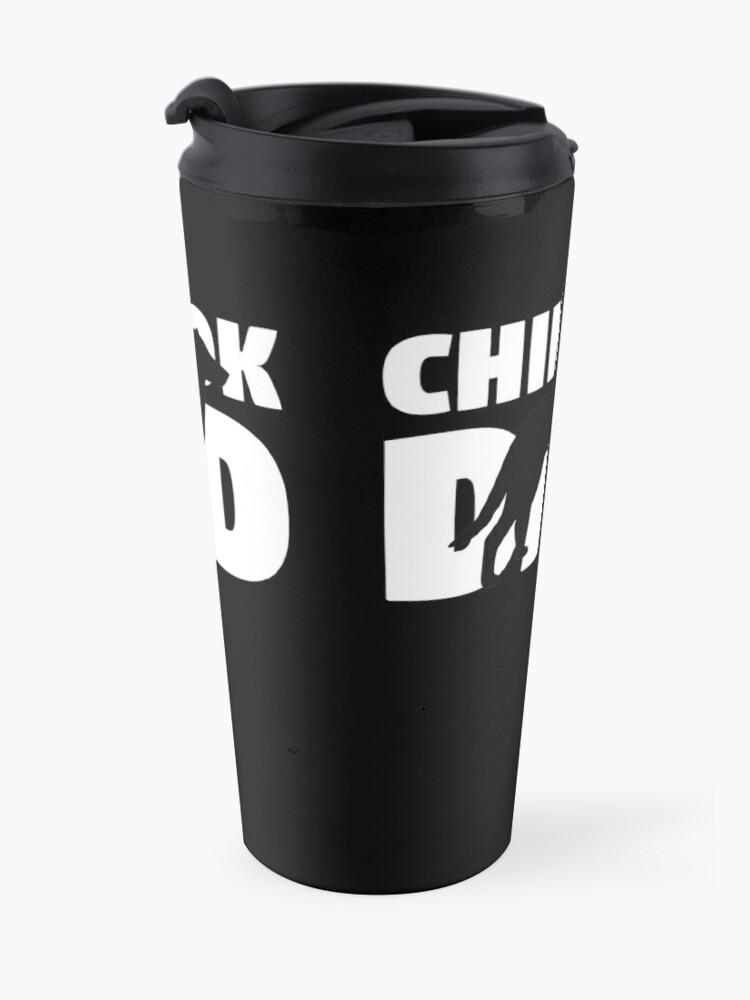 Vista alternativa de Taza de viaje Chinook Dad T-Shirt Chinook Gift Father Dog Dad Tee