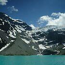 Upper Joffre Lake and Glaciers beyond by Michael Garson