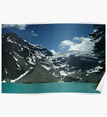 Upper Joffre Lake and Glaciers beyond Poster
