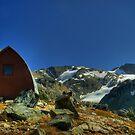 Wedgemount Hut  HDR by Michael Garson