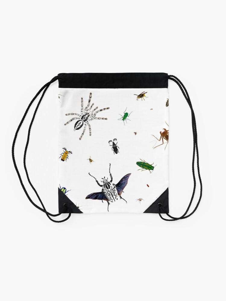 Alternate view of Entomologist's Dream Drawstring Bag