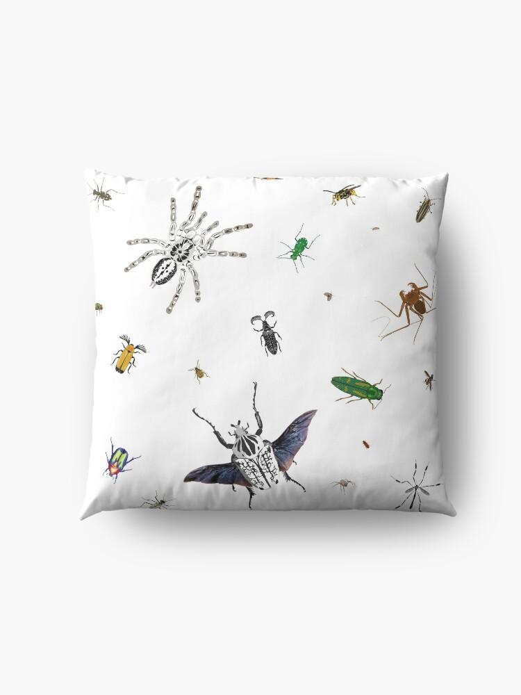 Alternate view of Entomologist's Dream Floor Pillow