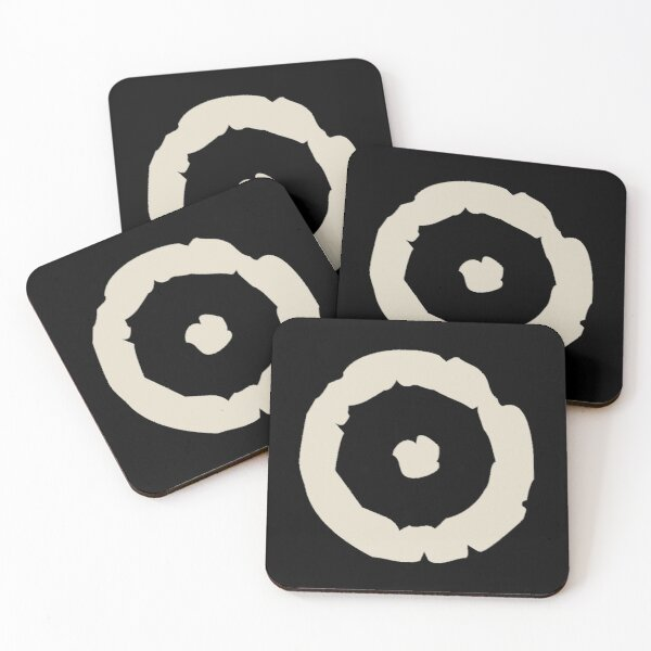 Fire Rune Collection Coasters (Set of 4)