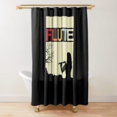 Flute Orchestra Shower Curtain