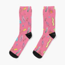 We're With Stupid (Smart Microbes) - For Dark Shirts Sock