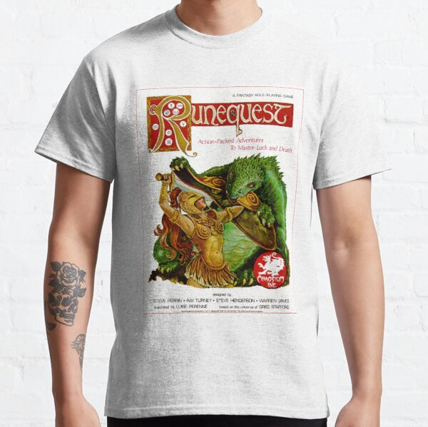 RuneQuest 2 Cover  Classic T-Shirt