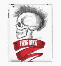 Skull Punk Rock iPad Case/Skin
